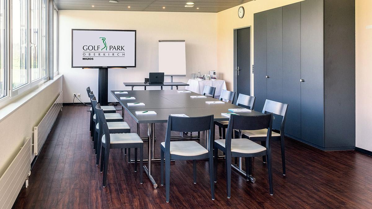 Raum für Seminare im Restaurant Oase